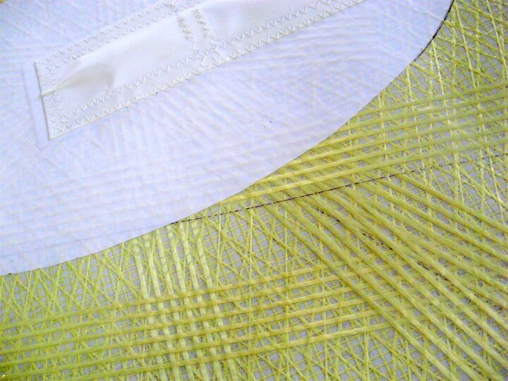 Reinforcing with kevlar PSA tape