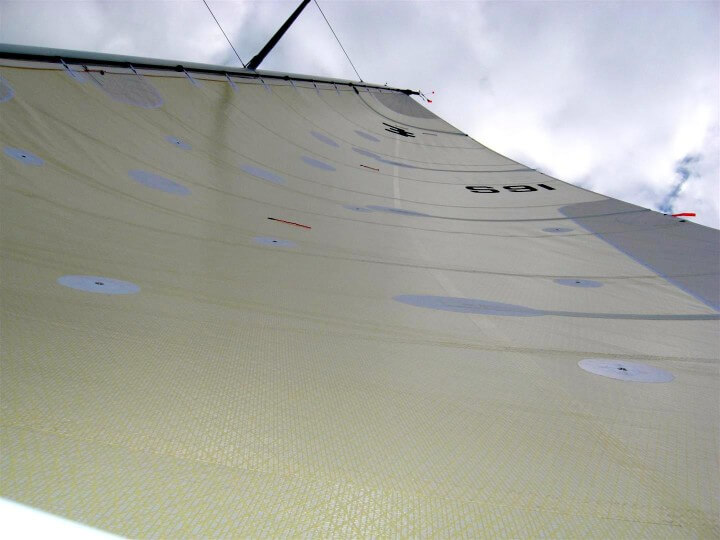 Elliot 12 mainsail